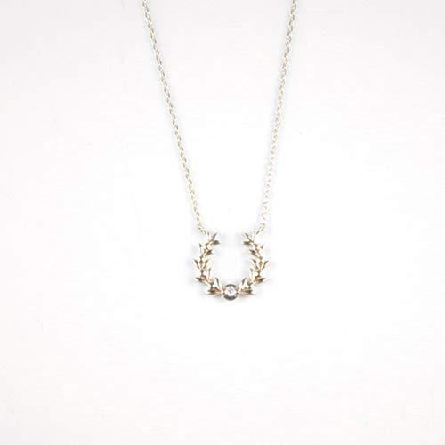 [スタージュエリー] ネックレス オリーブ ホースシュー ダイヤモンド 2JN7289 ゴールド