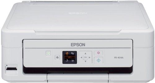 EPSON Colorio インクジェット複合機 PX-404A 1.44型カラー液晶モニター・メモリーカードスロット搭載 文字がきれい4色独立顔料インク ベーシックモデル