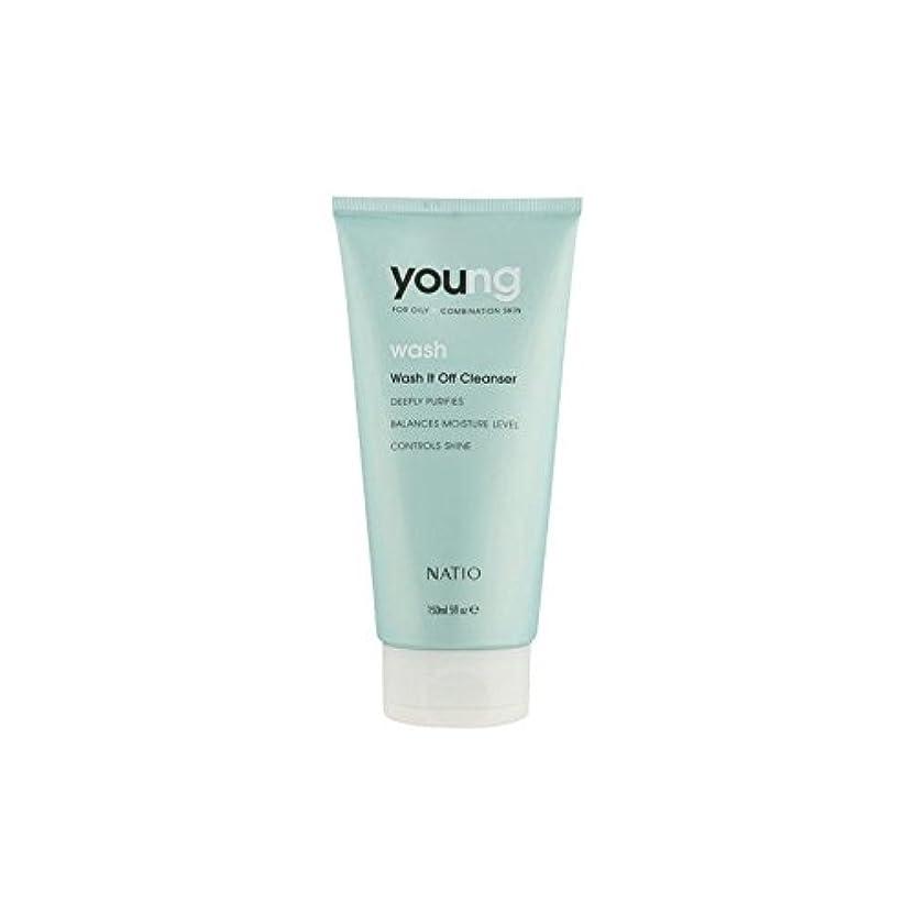提供された俳優メディアNatio Young Wash It Off Cleanser (150ml) - 若いウォッシュそれオフクレンザー(150ミリリットル) [並行輸入品]