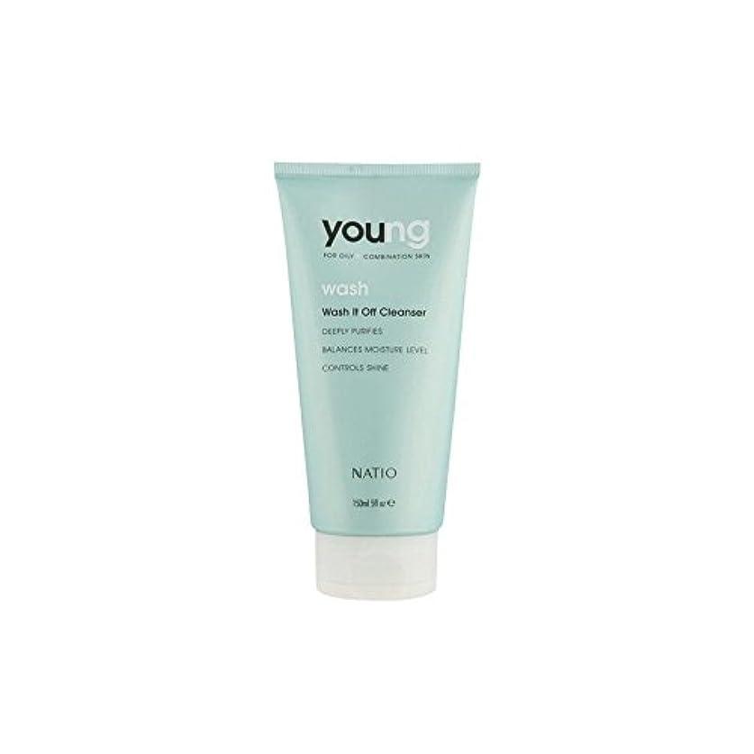 エレガント薬局蜜Natio Young Wash It Off Cleanser (150ml) (Pack of 6) - 若いウォッシュそれオフクレンザー(150ミリリットル) x6 [並行輸入品]