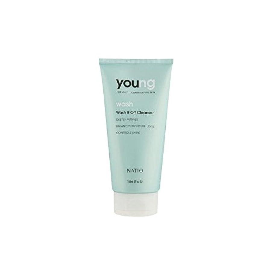 簡略化する順番抽選Natio Young Wash It Off Cleanser (150ml) (Pack of 6) - 若いウォッシュそれオフクレンザー(150ミリリットル) x6 [並行輸入品]