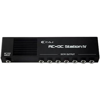 CAJ エフェクター用パワーサプライ AC/DC Station IV (アダプター、DCケーブル付き)