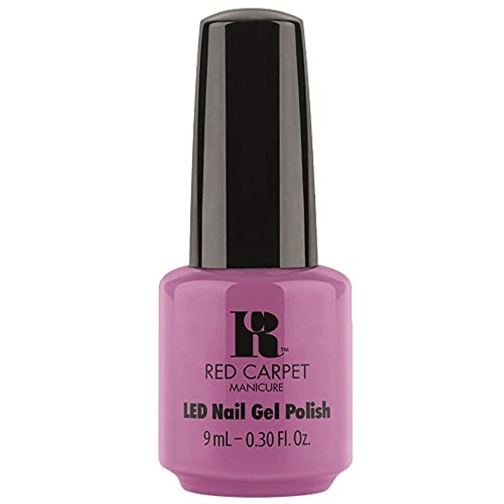謝るバリア帝国主義Red Carpet Manicure - LED Nail Gel Polish - Boats & Heels - 0.3oz / 9ml