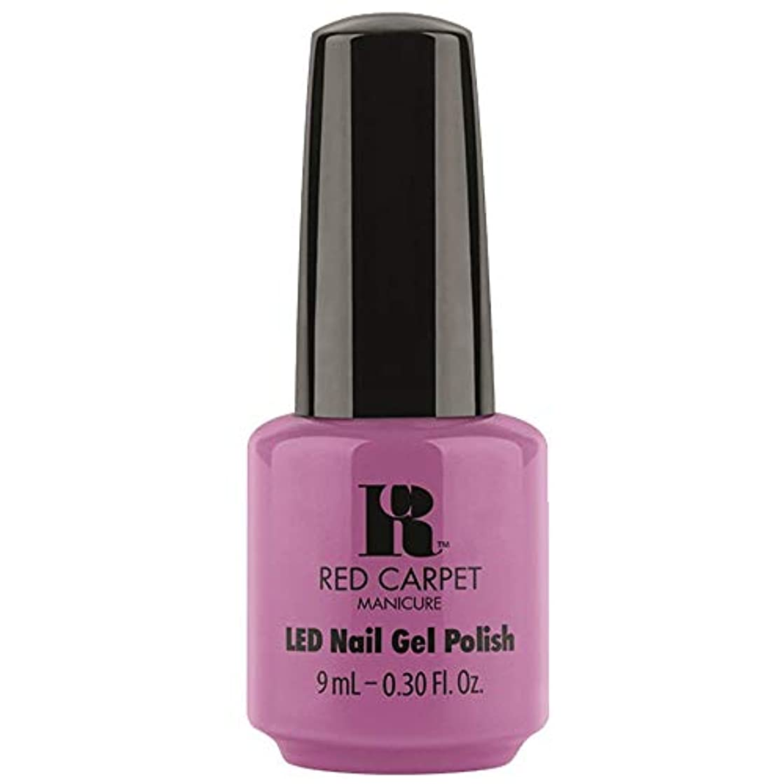 列車収縮疼痛Red Carpet Manicure - LED Nail Gel Polish - Boats & Heels - 0.3oz / 9ml