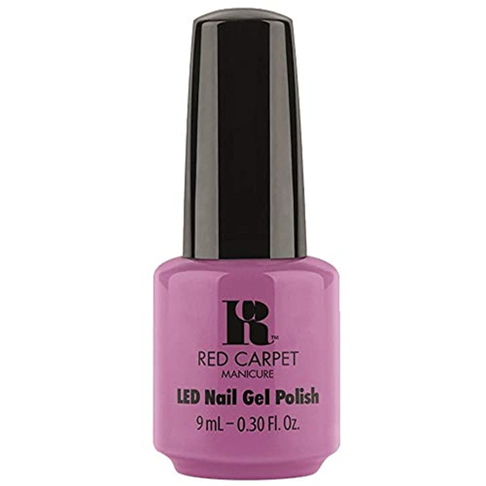 うがい隣接するあなたはRed Carpet Manicure - LED Nail Gel Polish - Boats & Heels - 0.3oz / 9ml