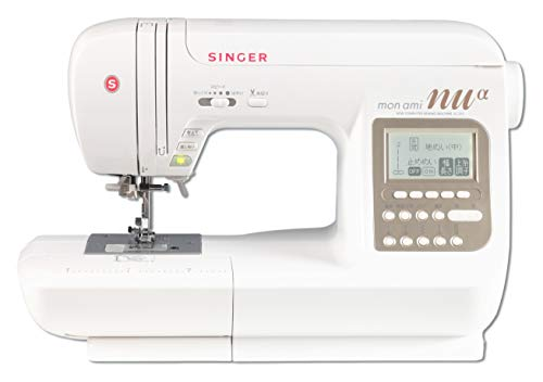 シンガーコンピュータミシンモナミ「ヌウアルファ」SC315 (SC300の新型特別仕様)