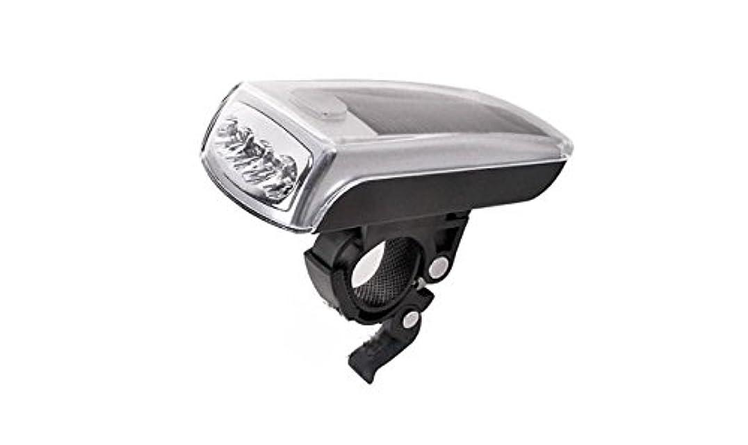 牛アセ境界【ノーブランド】サイクルソーラーライト LED4灯式とっても明るいUSBからも充電できる(USBコードは付属しません)