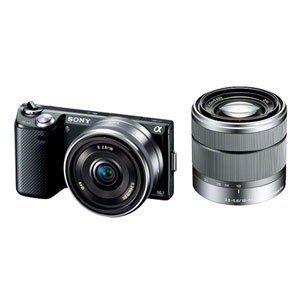 SONY デジタル一眼カメラ α NEX-5N ダブルレンズキット ブラック NEX-5ND/B