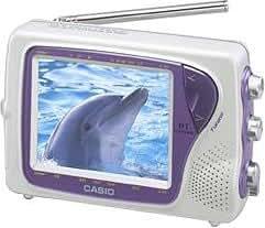 CASIO お風呂テレビ SY-4000PK カシオ液晶ハンディTV (ピンク)