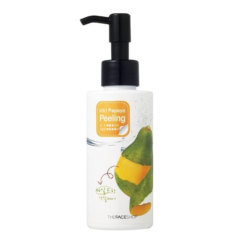 醸造所サロン管理するThe Face Shop ザ・フェースショップ・スマート・ピーリング・マイルド・パパイヤピーリング150mg(Smart Peeling Mild Papaya Peeling 150mg) [並行輸入品]