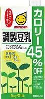 マルサン 調製豆乳 カロリー45%オフ 1L ×6本
