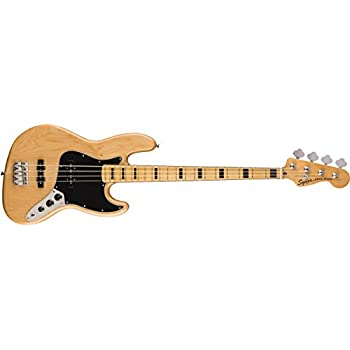 Squier by Fender エレキベース Classic Vibe '70s Jazz Bass®, Maple Fingerboard, Natural