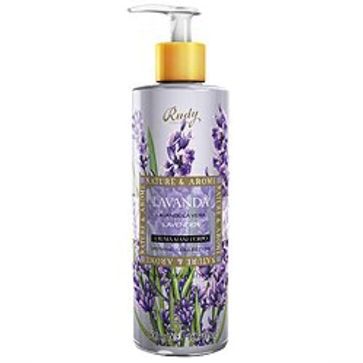 ベアリング放つ小さいルディ(Rudy) ナチュール&アロマ ハンド&ボディローション ラベンダー 500ml 【並行輸入品】 RUDY Nature&Arome SERIES Hand&Body lotion Lavender