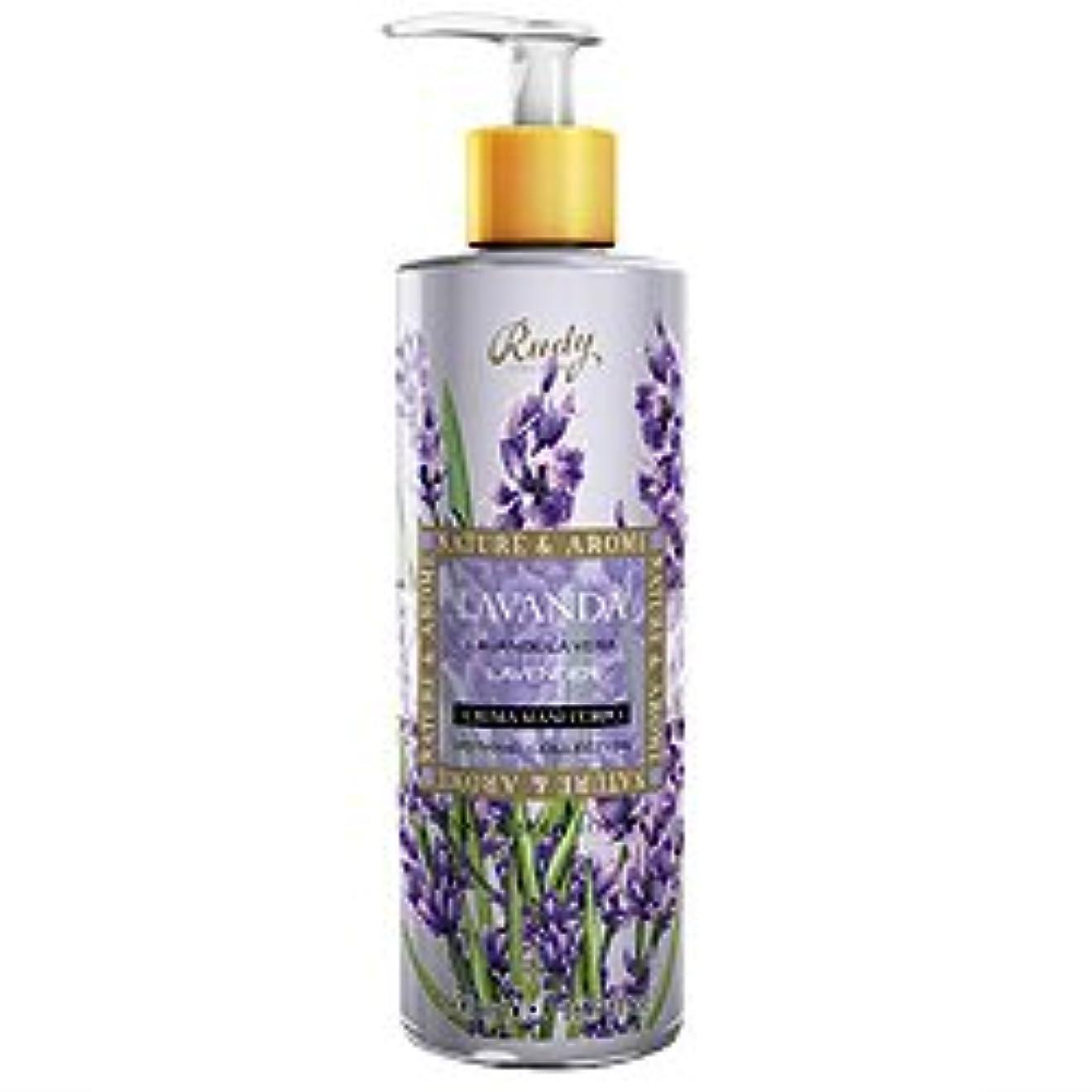 おじさんスクラップ化合物ルディ(Rudy) ナチュール&アロマ ハンド&ボディローション ラベンダー 500ml 【並行輸入品】 RUDY Nature&Arome SERIES Hand&Body lotion Lavender