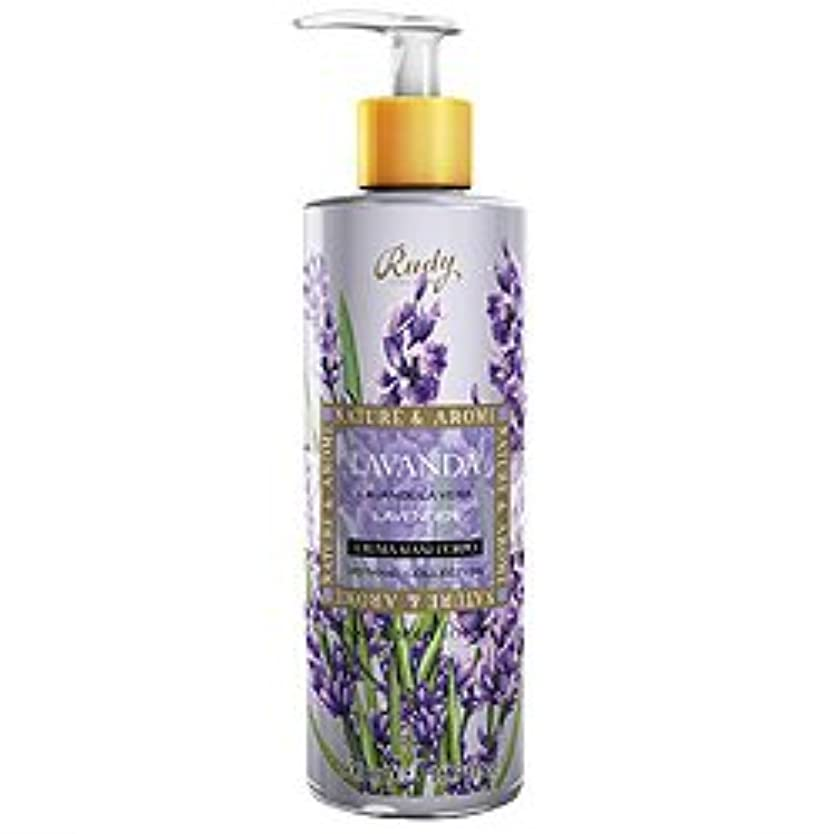 遊具昼食長老ルディ(Rudy) ナチュール&アロマ ハンド&ボディローション ラベンダー 500ml 【並行輸入品】 RUDY Nature&Arome SERIES Hand&Body lotion Lavender