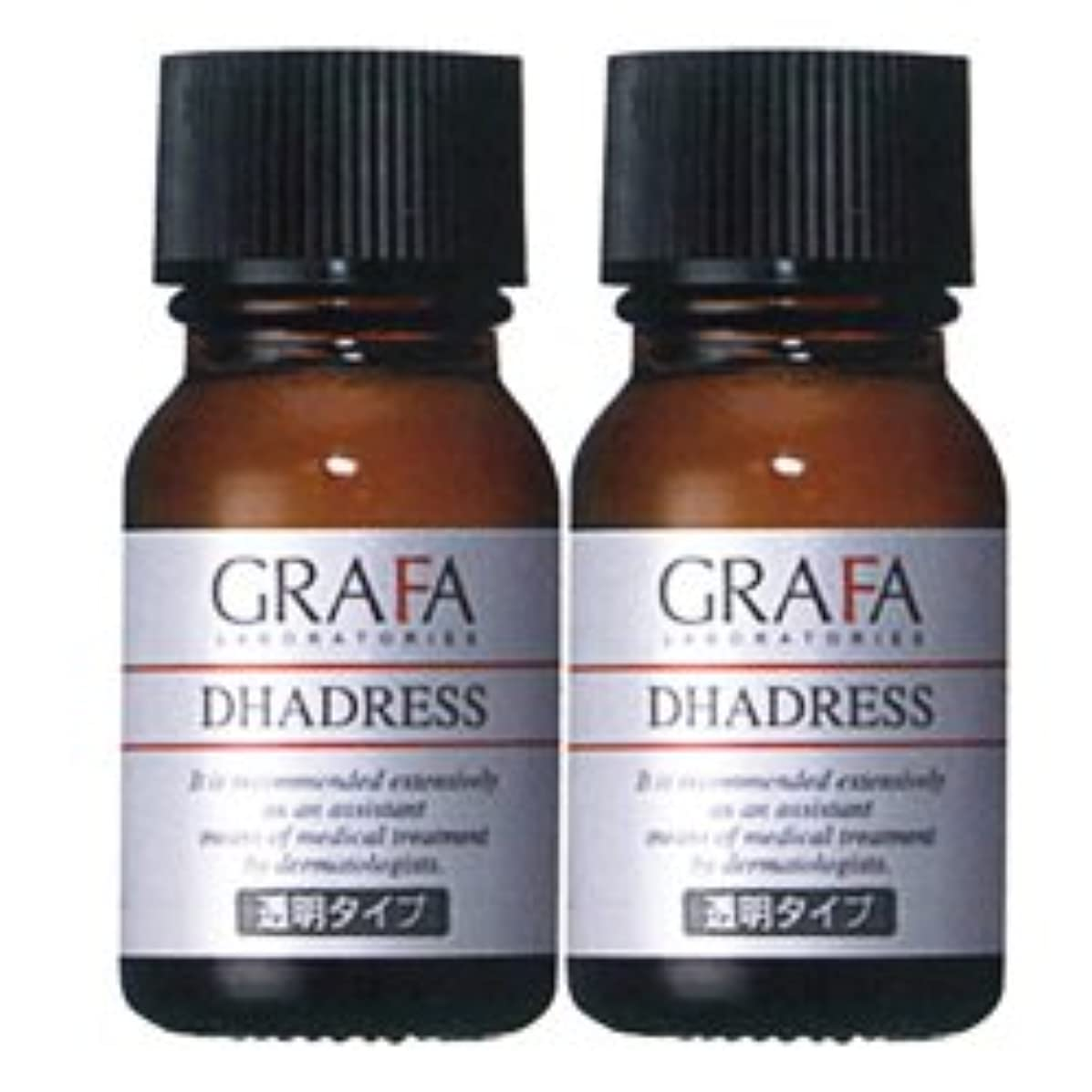 葉を集める不完全切手グラファ ダドレス (透明タイプ) 11mL 着色用化粧水 GRAFA DHADRESS
