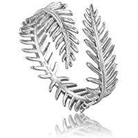 Palm Leaf Adjustable Ring