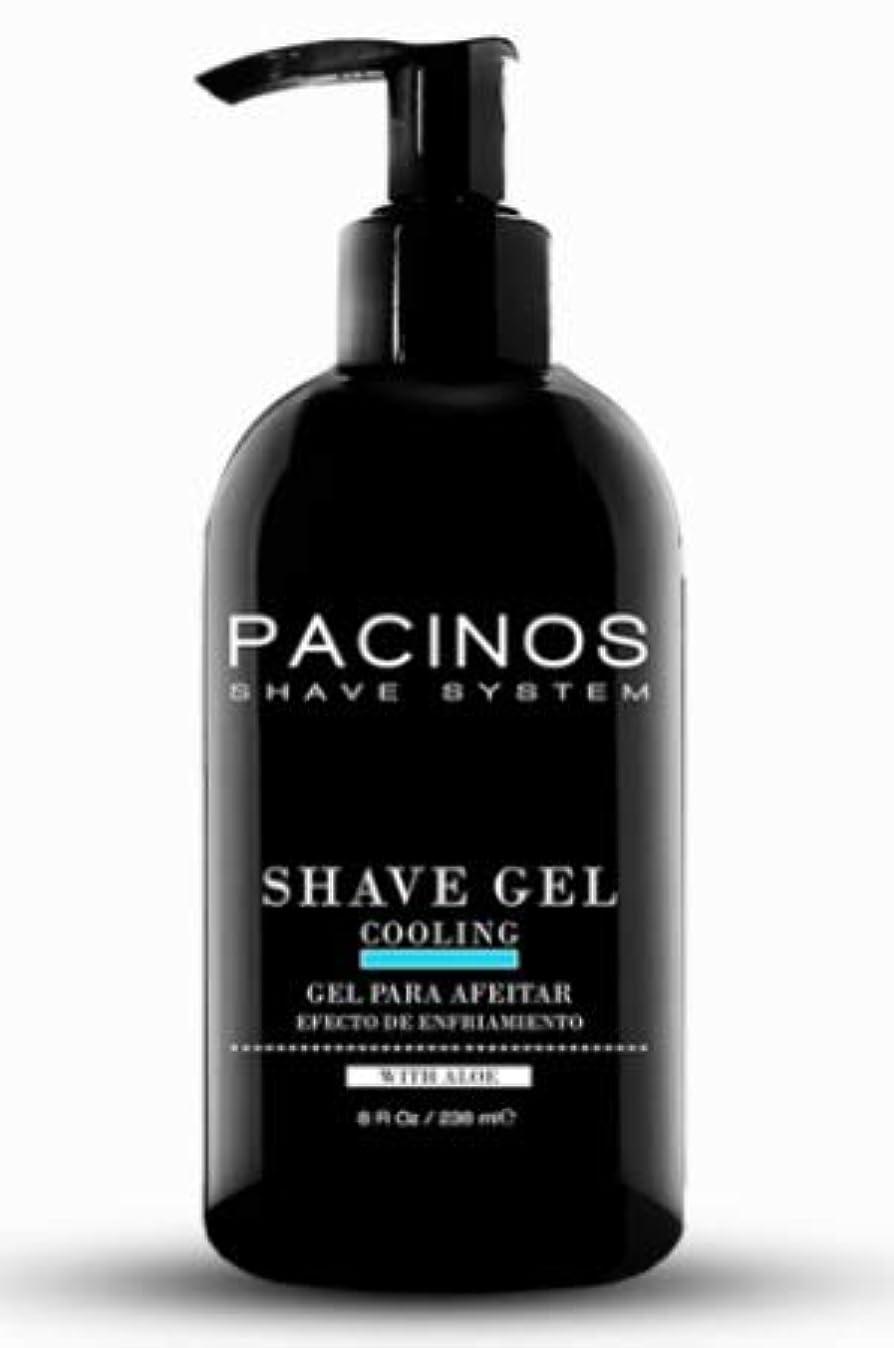 セクタベスビオ山熱帯のPACINOS Shave Gel 8oz