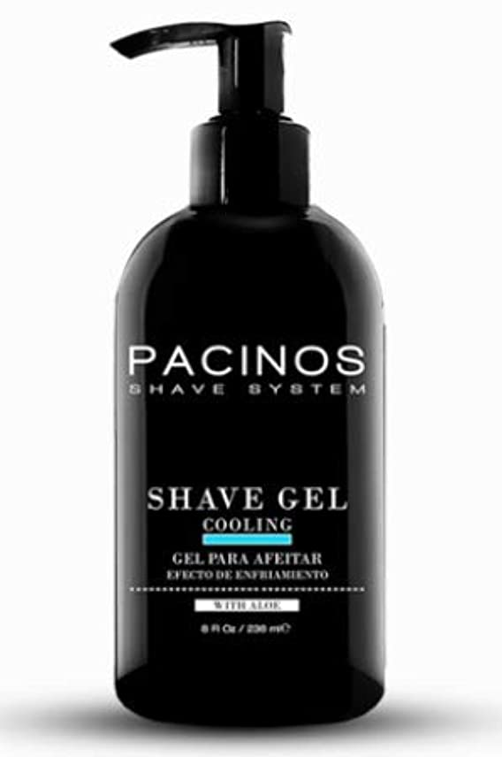 頭前部崇拝するPACINOS Shave Gel 8oz