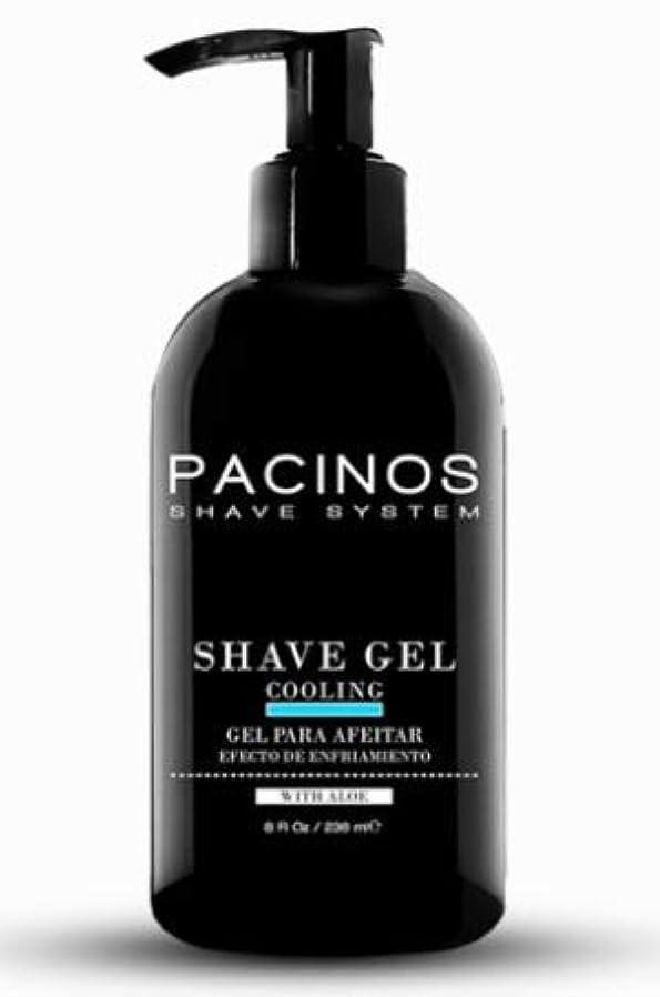 散髪膨張する液化するPACINOS Shave Gel 8oz