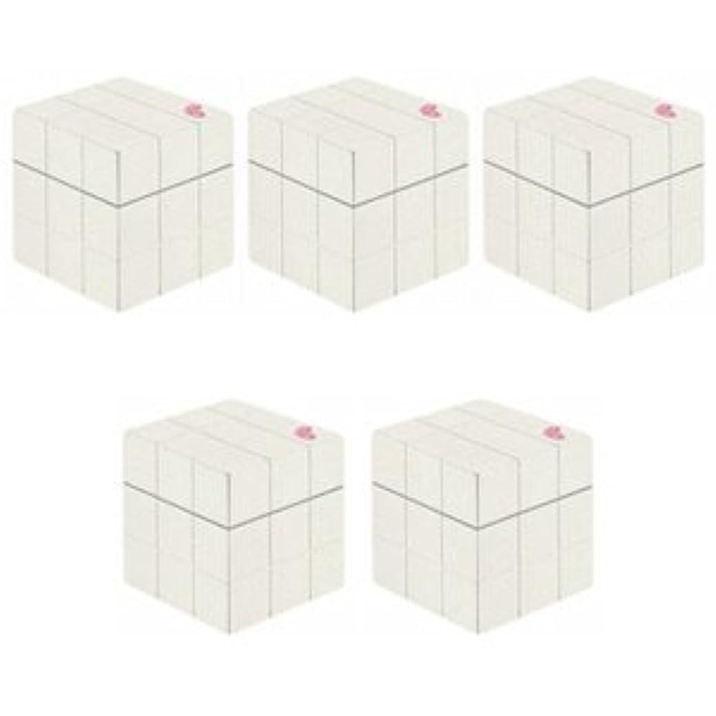 靴ジム本能【X5個セット】 アリミノ ピース プロデザインシリーズ グロスワックス ホワイト 80g