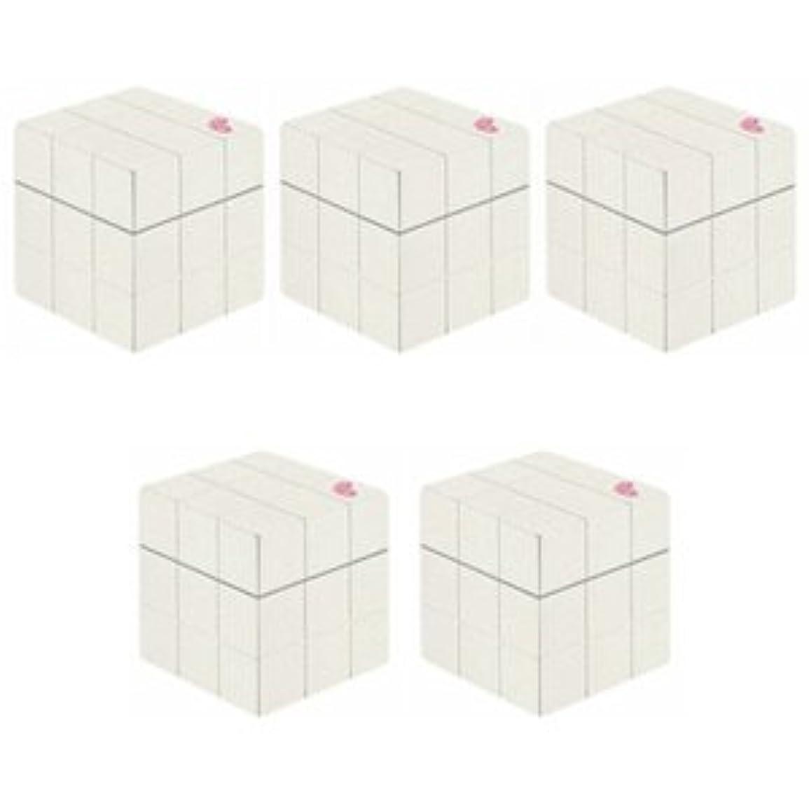 真実印をつけるハング【X5個セット】 アリミノ ピース プロデザインシリーズ グロスワックス ホワイト 80g