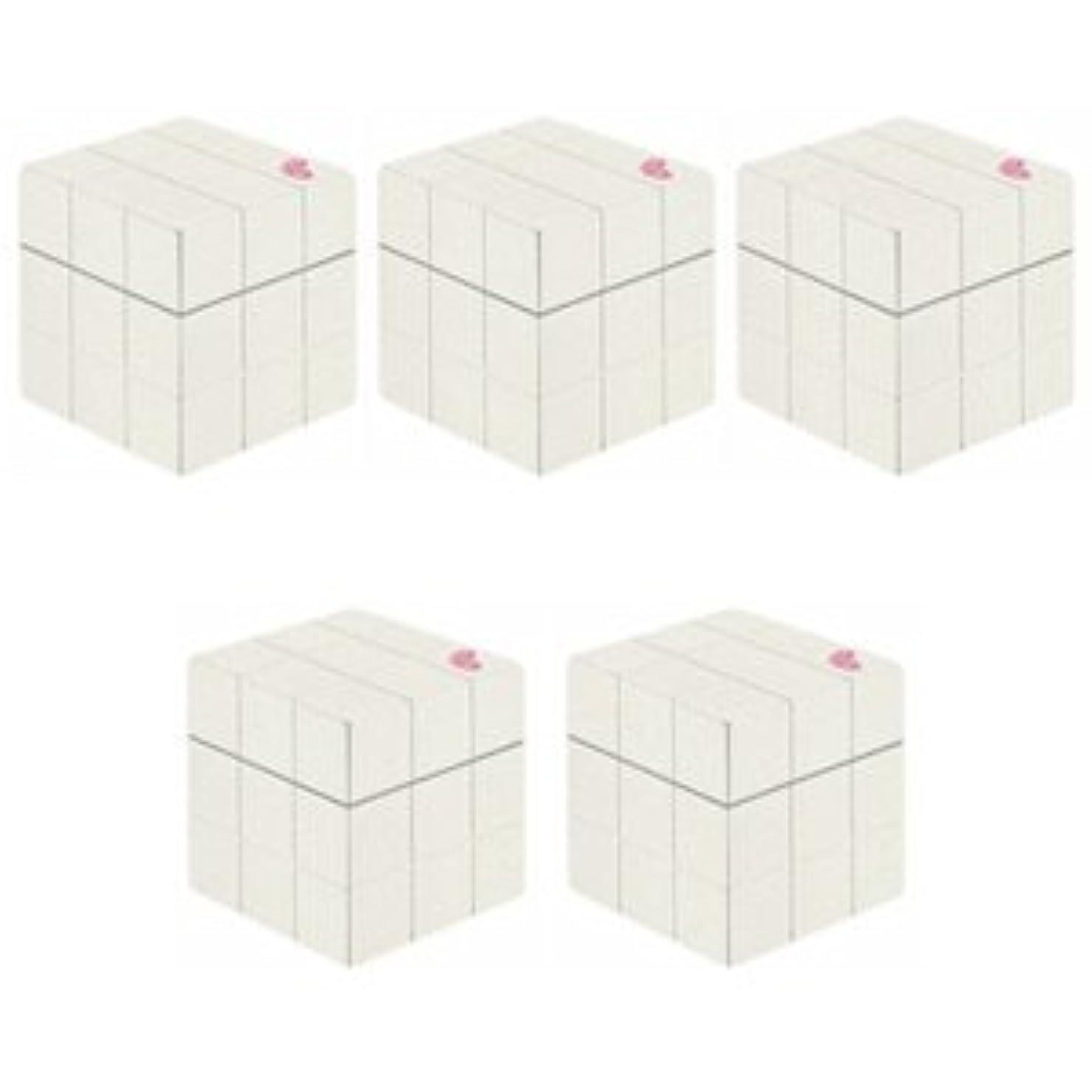 スキム透過性見つけた【X5個セット】 アリミノ ピース プロデザインシリーズ グロスワックス ホワイト 80g