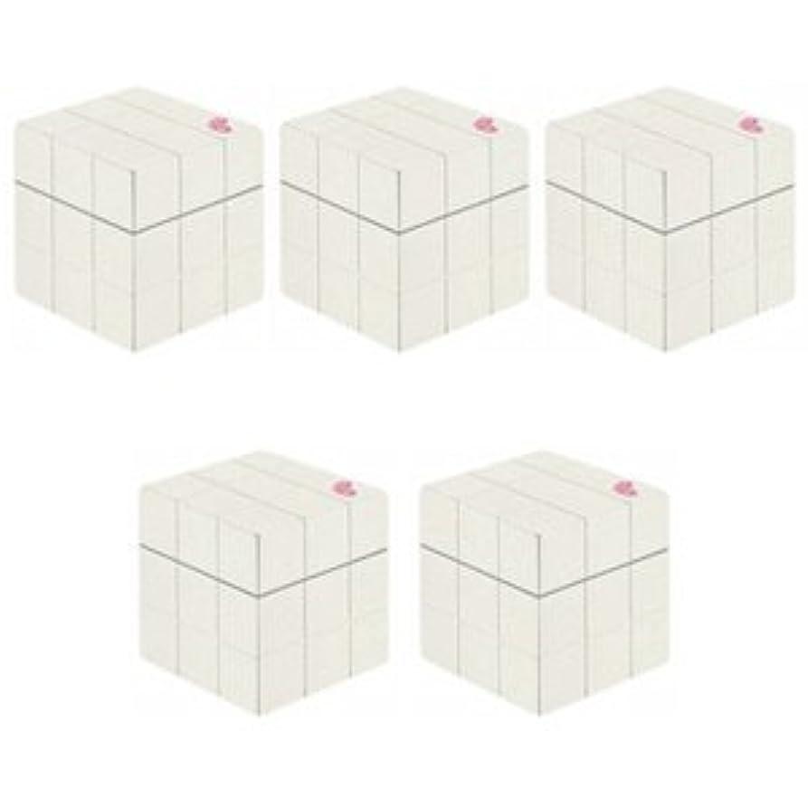 【X5個セット】 アリミノ ピース プロデザインシリーズ グロスワックス ホワイト 80g