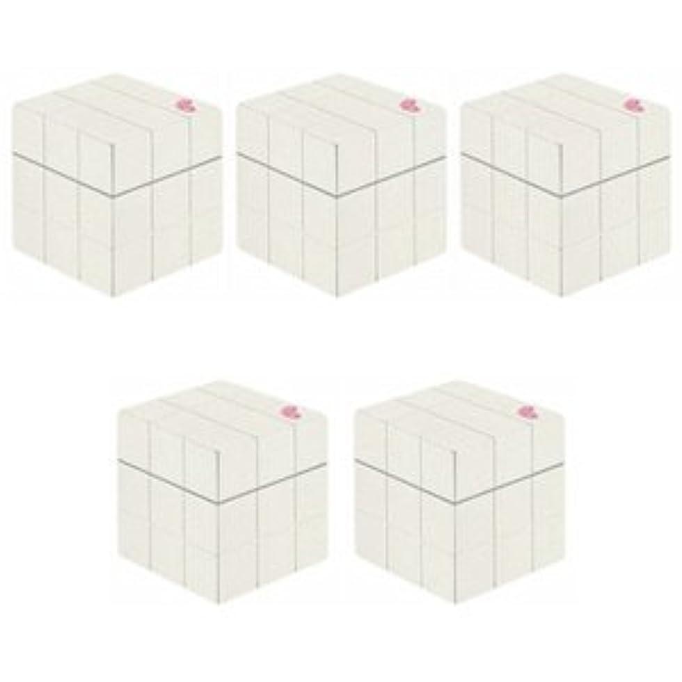 休憩する好む高架【X5個セット】 アリミノ ピース プロデザインシリーズ グロスワックス ホワイト 80g