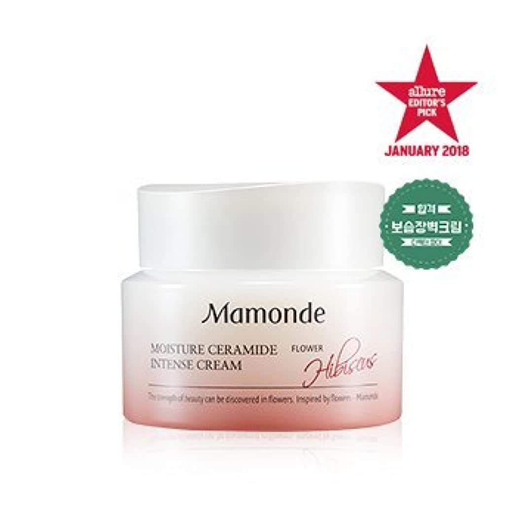 ふくろうリングバック悪性[MAMONDE] モイスチャーセラミドインテンシブクリーム / Moisture Ceramide Intense cream 50ml [並行輸入品]