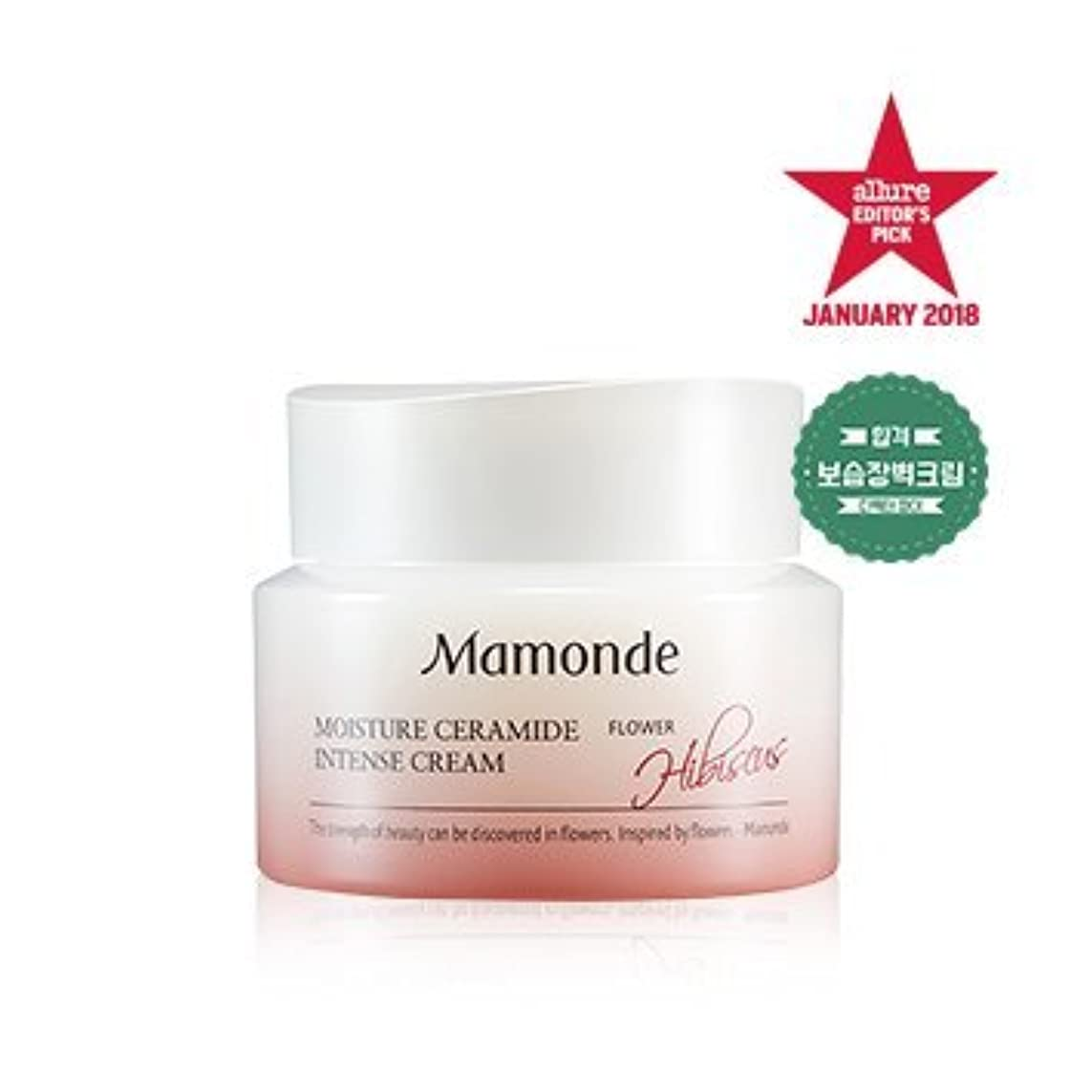 ダウン枝マインドフル[MAMONDE] モイスチャーセラミドインテンシブクリーム / Moisture Ceramide Intense cream 50ml [並行輸入品]