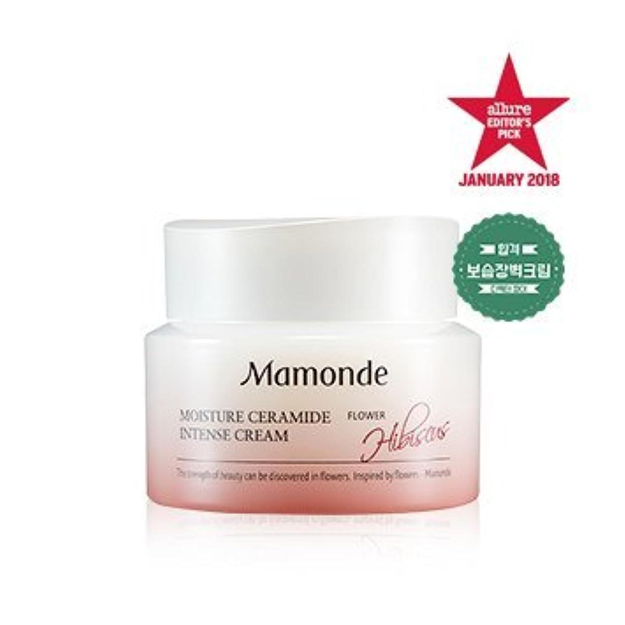 飼料標高増幅する[MAMONDE] モイスチャーセラミドインテンシブクリーム / Moisture Ceramide Intense cream 50ml [並行輸入品]