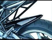 Powerbronze(パワーブロンズ) リアフェンダー(ハガー) ブラック・シルバーメッシュ KAWASAKI VERSYS (+ABS) 07-11 pbz-301-K109-603