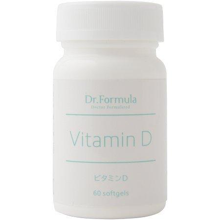 Dr.Formula ビタミンD(ビタミンD3を1,000IU配合) 60粒 60日分 日本製
