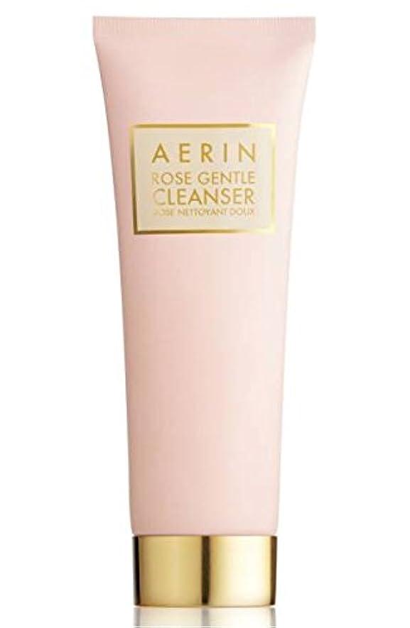 困惑する器官古いAERIN Rose Gentle Cleanser(アエリン ローズ ジェントル クレンザー) 4.2 oz (126ml) by Estee Lauder