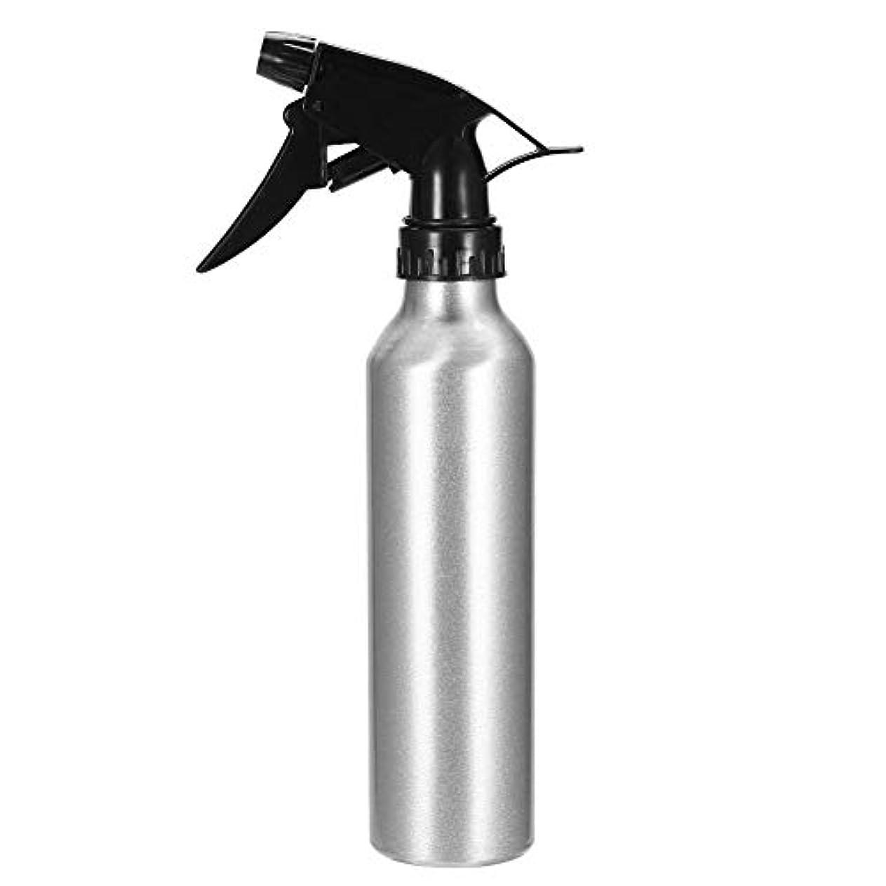 忍耐すぐに胸Pichidr-JP アルミスプレーボトルシルバートリガーエンプティタトゥーエッセンシャルオイルスプレー用サロン理容美容院植物クリーニング