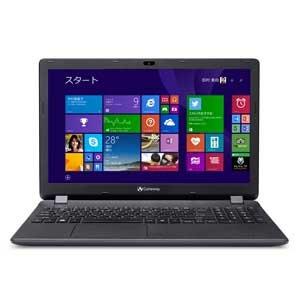 Gateway ノートパソコン NEシリーズ NE512-F14D/F ※Office欠品 Celeron 2.16GHz/4GB/500GB/15.6インチ/DVDスーパーマルチドライブ/HDMI/Bluetooth/Windows 8.1