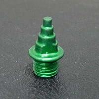 超軽量スパイクピン(XmasTree型) グリーン 7mm