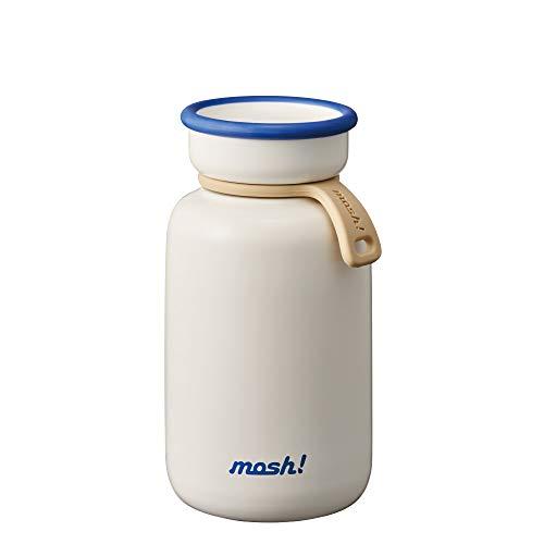 ドウシシャ ホワイト 330ml 真空断熱 マグボトル mosh(モッシュ) ラッテ DMLB330WH