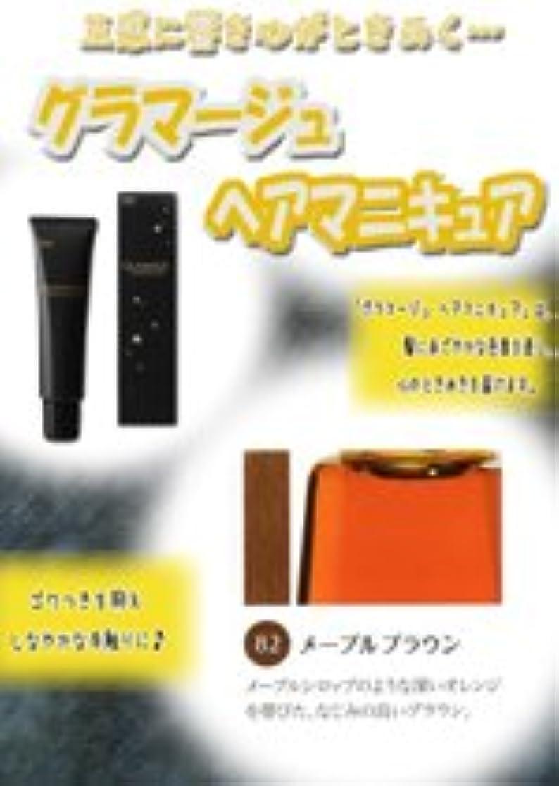 HOYU ホーユー グラマージュ ヘアマニキュア 82 メープルブラウン 150g 【ブラウン系】