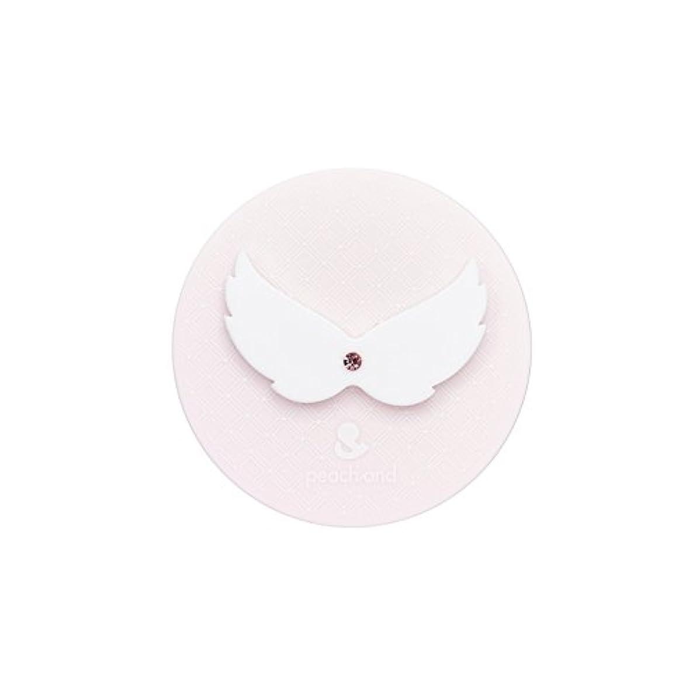 置くためにパック想定トーストピーチアンド 子供用 日やけ止め UVパクト SPF50+ PA+++ (天使の羽)