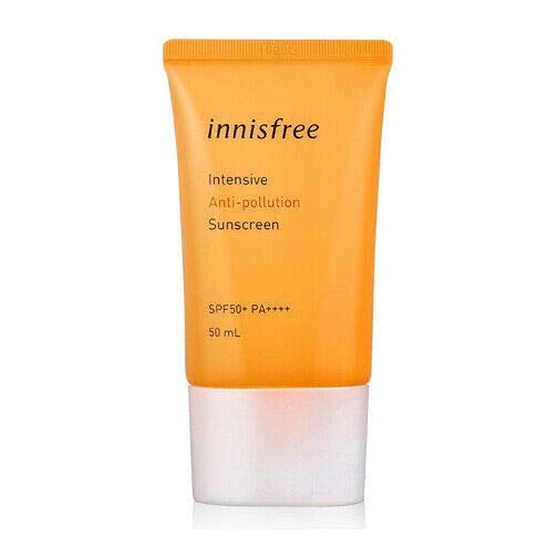 ドラフトに関して逃す[イニスフリー] innisfree [インテンシブ ブアンチポールション サンスクリーン 50ml ] Intensive Anti-pollution Sunscreen SPF50+ PA++++ 50ml [海外直送品]