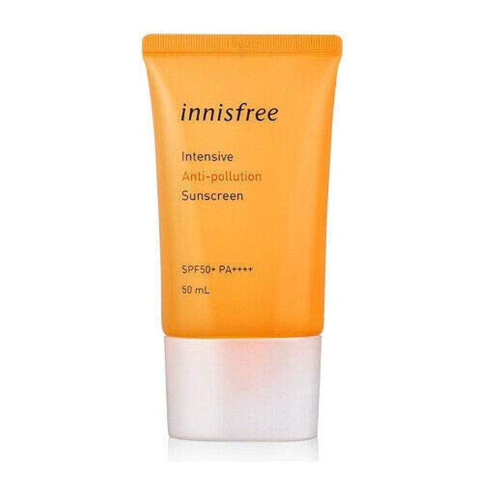 繰り返すカスケード頑丈[イニスフリー] innisfree [インテンシブ ブアンチポールション サンスクリーン 50ml ] Intensive Anti-pollution Sunscreen SPF50+ PA++++ 50ml [海外直送品]