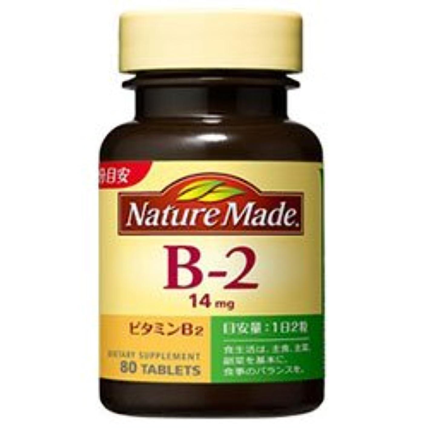 ペースブレース甘やかす大塚製薬 ネイチャーメイド ビタミンB2 80粒×3個入