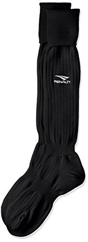 (ペナルティ)PENALTY サッカー・フットサル ワンポイントストッキング 25-27 cm PS2308 30 ブラック F