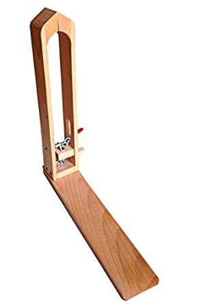 高さ抜群 ステッチングツリー レーシングポニー レザークラフト 道具 革 細工 手縫い 用 ニュージーランド木製 (Harvestmart)