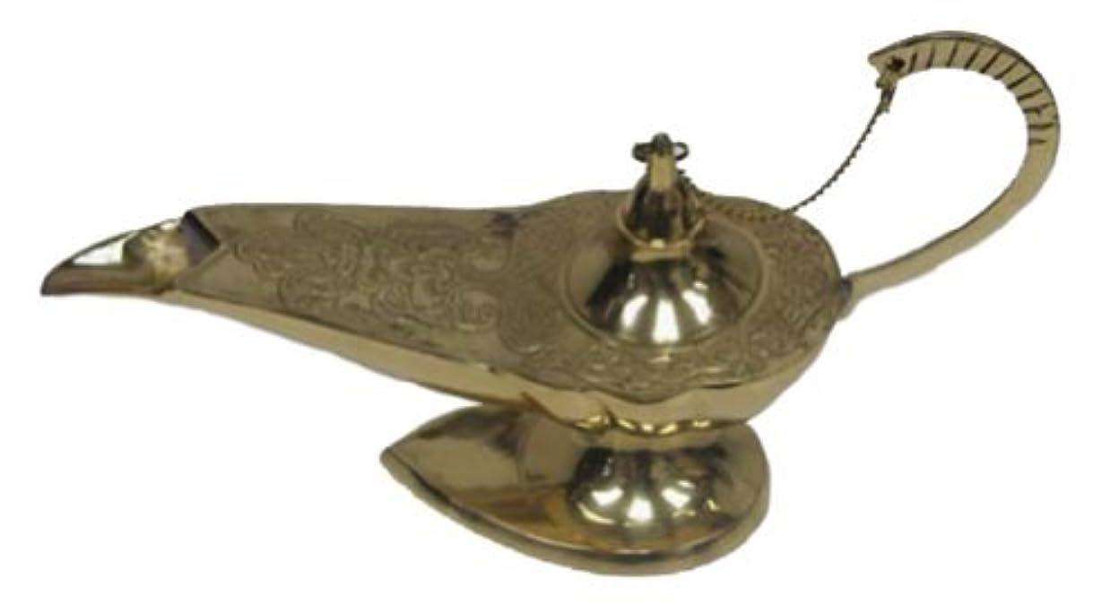 耐えられない貼り直す湿度India 魔神華やかなアラジンのランプ香炉