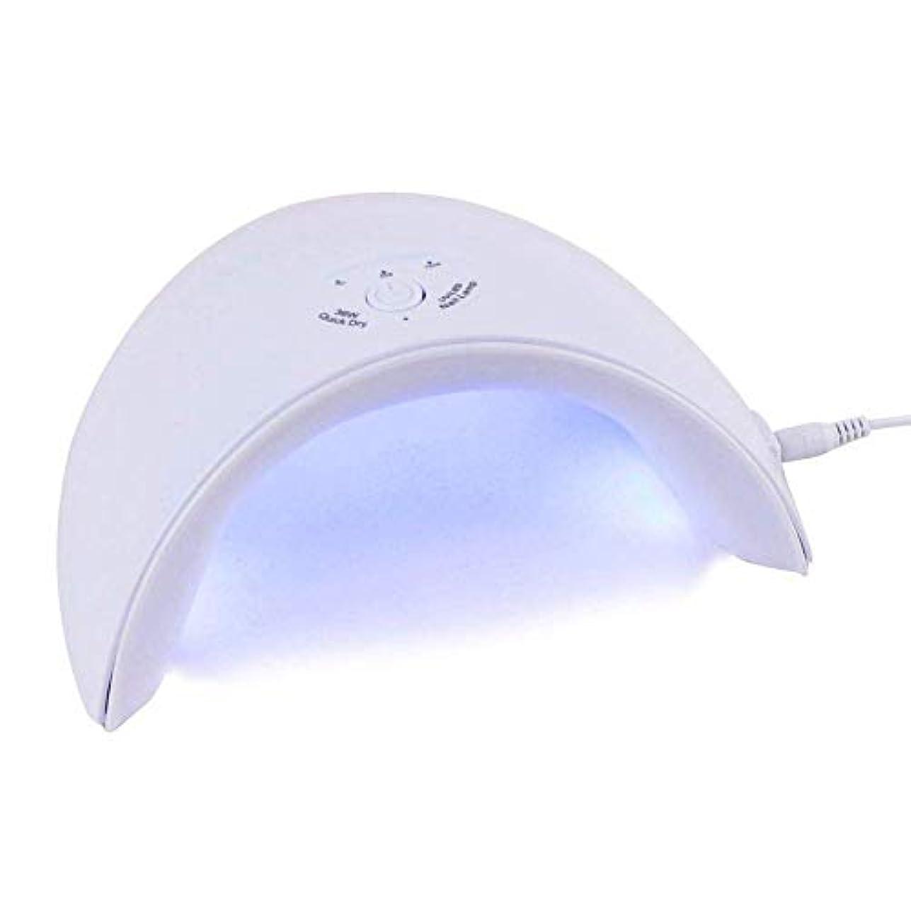 感謝祭ウッズ節約するネイルドライヤー新しい36W UV LEDランプすべてのタイプのネイルドライヤージェル12個のLEDネイルマシン用UVランプ硬化60秒/ 120秒タイマーUSBコネクタ、写真の色