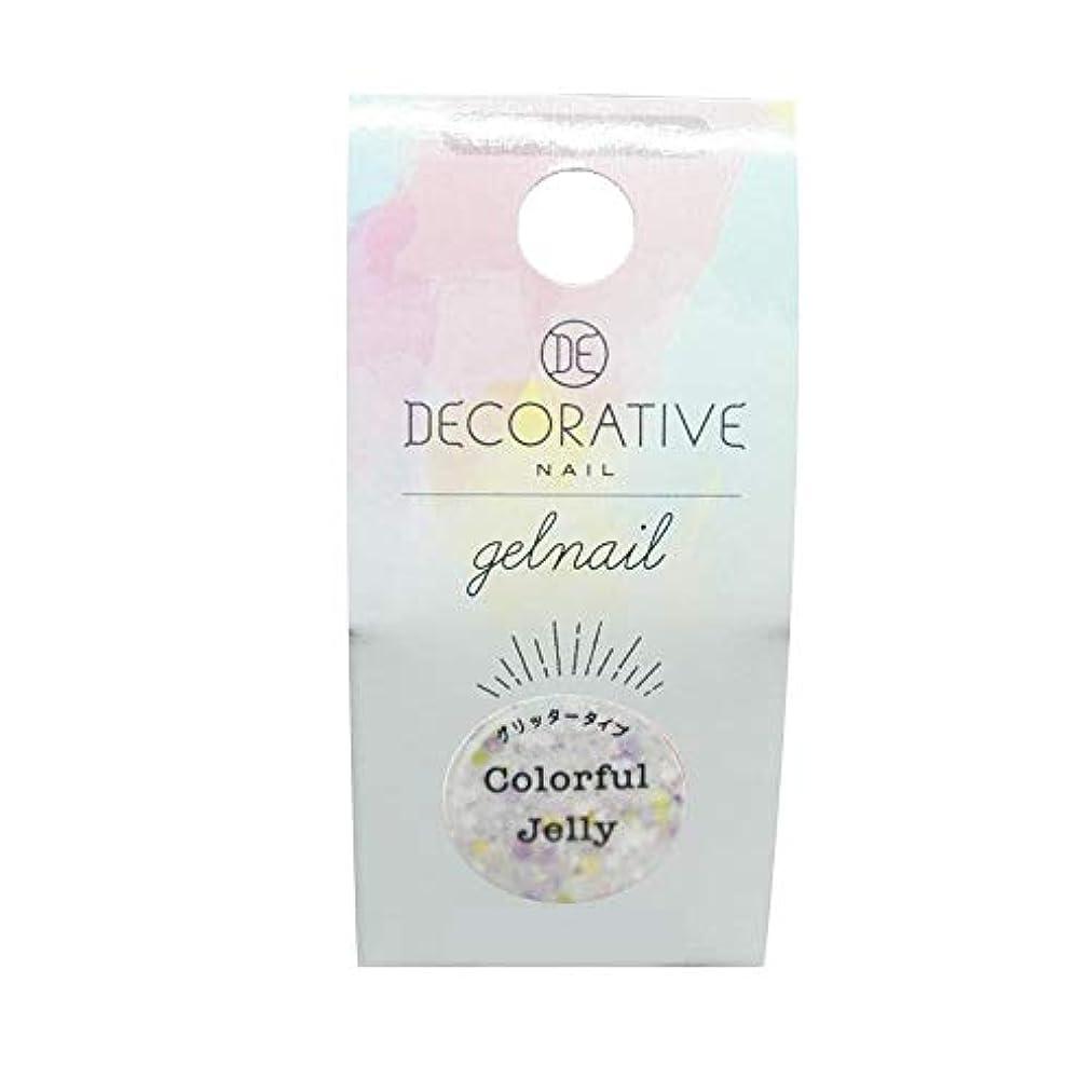 クライアントお風呂偽装するDECORATIVE NAIL デコラティブネイル ジェルネイル カラージェル カラフルゼリー(グリッタータイプ) TN81263