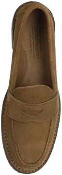 Suede Loafer 1331-699-5383: Mocha